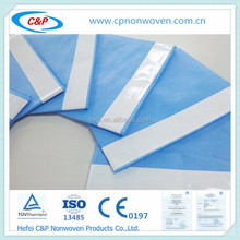 Nonwoven Blue/Green Surgical Utility/Plain Drape With Tape and CE &ISO Certification