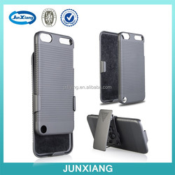 High quality mobile phone accessories pc holster case for ipod touch 5