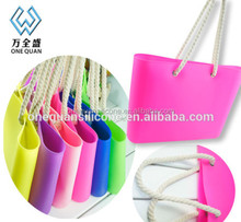 2015 Fashion Cheap Designer soft Silicone Candy Bag Handbag Women Tote Wristlet Shop
