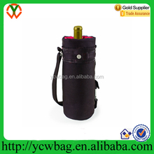 Polyester Single Insulated Wine Tote