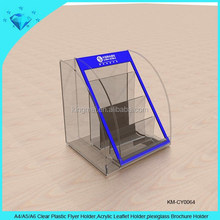 A4 A5 A6 Clear Plastic Flyer Holder,Acrylic Leaflet Holder,plexiglass Brochure Holder