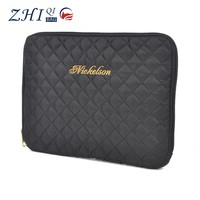 """ZQ-E-020 Dongguan Nylon factory outlet BSCI shockproof 11"""" grid tablet case"""