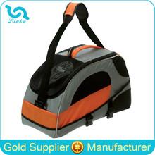 High Quality Orange Black Pet Dog Carrier Bag Dog Carry Bag Dog Bag