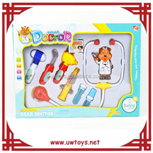 Lo nuevo 9 unids doctor juguetes, herramientas médico juguetes, médico juego conjunto para los niños