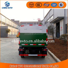 Euro4 4*2 ChangAn Miniature sealed dump garbage can cleaning truck china supplier garbage truck dimensions