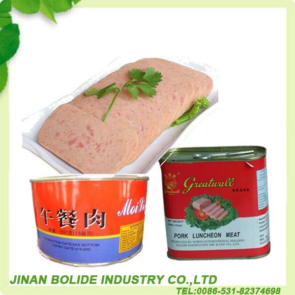 340 g enlatados de carne enlatada HALAL
