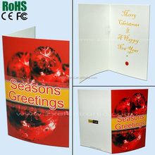 Sound Recordable Greeting Cards With Clear And Vivid Voice