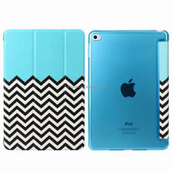 For iPad Mini 4 tablet case cover with transparent PC back cover case