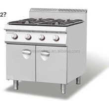 2012 style Gas Range 4-Burner with Cabinet