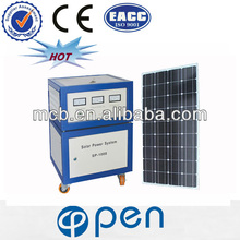 OP600W 2013 hot sale 100 watt portable solar system for home