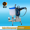 grouting injection pump for crack repair