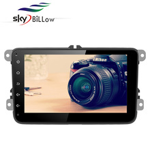 High quality 8 inch univeral andorid car dvd with gps navigation and fit for vw car make