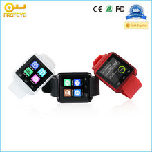 """2014 New Multi Funtion 1.44"""" Touch Screen Waterproof Bluetooth Smart Watch for Phones Black White Red"""