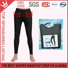The men forced abdomen slimming bamboo carbon fiber nine pants K163