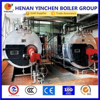 New promotion 3 pass gas burner gas steam boiler made in india products