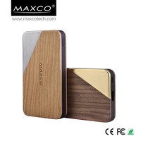MAXCO 8000mah high capacity lipo power bank external battery charger for mobile phone, ipad