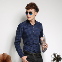 China supplier stylish cotton long sleeve latest shirts for men pictures