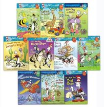 Cat In The Hat Young Readers Collection 10 Books Set Bonnie Worth, Trish Rabe