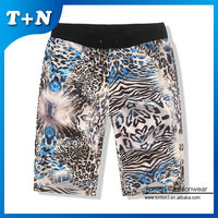 wholesale women sexy boy xxx leopard print shorts