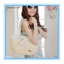 Ruili Contracted Lace Straw Bags Beauty Lady Beach Bag