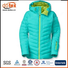 2015 thermal windbreak waterproof winter ladies padded coat
