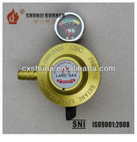 Export Best Home Use LPG Gas Regulator And Gauge For Gas Cylinder & Gas Stove From China Manufacturer
