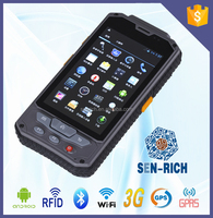 touch screen Industrial pda with barcode scanner RFID reader, Bluetooth, GPS, P9001
