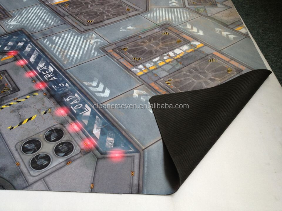 Large Size Neoprene Play Mat Urban Commando Battle Mat