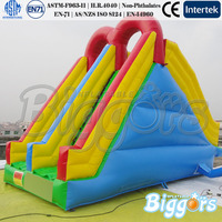 New Inflatable Water Slide For Pool Or Lake With Double Lane Inflatable Slide