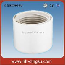 PVC Material and ASTM D-1785 SCH40 Standard pvc pipe threaded cap end cap