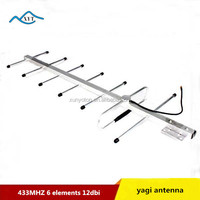 Factory price high quality uhf 433mhz 12db yagi antenna