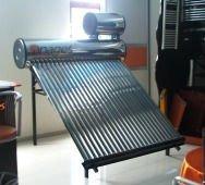 solar water heating system - vacuum tube