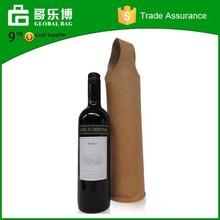 Custom Good Desigh Bottle Leather Wine Carrier