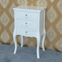 Floral painted console table /storage cabinet, elegant home decorative wooden furniture