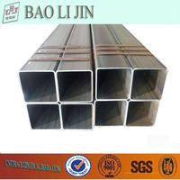 ASTM A53 square pipe, Q235B square tube, A500 GR B square tubing