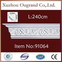 pu plastic tile trim wood decorative corners