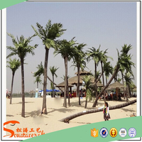 artificial coconut tree fake plant tree and plastic coconut palm tree for sale