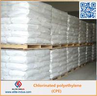 CPE resin/Chlorinated Polyethylene/resin mainly for plastic,elastomer material etc