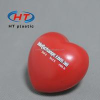HTPU014 Promotion Heart Shaped PU Stress Relief/Cheap Stress Ball/Anti Stress Ball