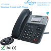 2 Lines WiFi VoIP Phone Wireless IP Phone Enterprise HD Wireless SIP Phone