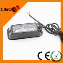 CIGO New products Surface Mount Amber multiflash security car led strobe light