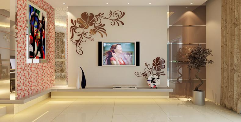 Miroir D Coratif Acrylique Arbre 3d D Coration Murale