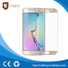 Factory price full cover screen protector for Samsung s6 curved edge plus anti fingerprint anti-scratch Explosion Proof