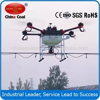 electric flying drone agricultural helicopter sprayer