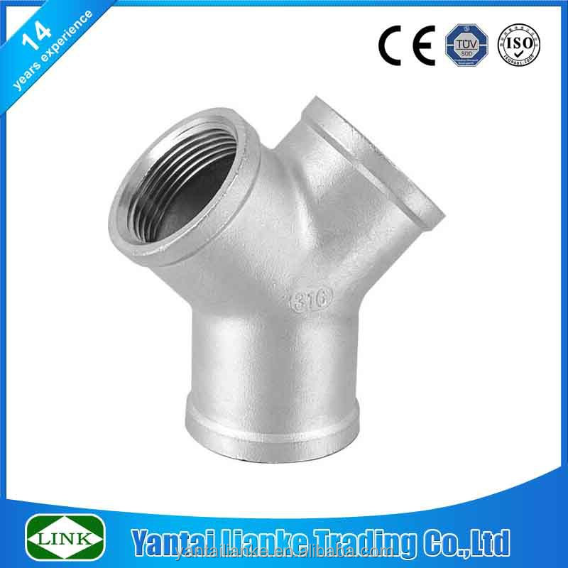 Y type fitting mould threaded weld