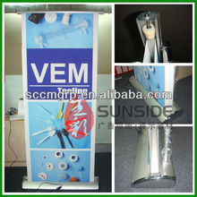 Outdoor Promotional Retractable Display Roll up Banner Stand printing for advertising 50