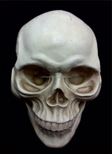 Halloween decorative skull head