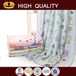 wholesale microfiber printed blanket
