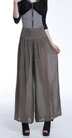 2015 The Korean Fashion Version Of The New Large Size Was Thin trousers Cotton Summer Casual Wide Leg Pants 9691
