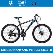 Mountain Bike tipo e garfo de alumínio Material de bicicletas Mountain Bike